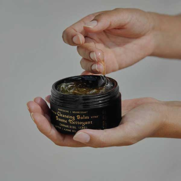 Cleansing Facial Balm CBD Beauty Products Skin Care Botanical Skin Health